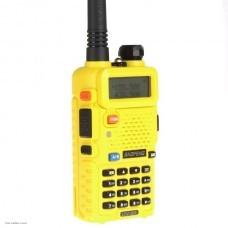 Аналоговая профессиональная рация Baofeng UV-5R Yellow