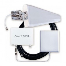 GSM/3G репитер ДалСВЯЗЬ DS-900/2100-10 C2 (комплект с антеннами и кабелем)